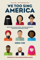 We Too Sing America book