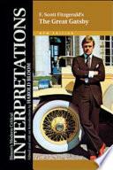 F. Scott Fitzgerald's the Great Gatsby by Harold Bloom