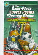 The Last place Sports Poems of Jeremy Bloom