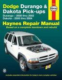 Dodge Durango Dakota Pick Ups