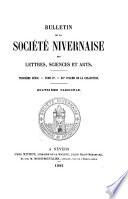 Bulletin de la Soci  t   nivernaise des lettres  sciences et arts