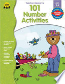 101 Number Activities  Ages 3   6