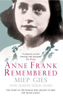 Book Anne Frank Remembered