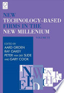 New Technology Based Firms in the New Millennium  Vi  6