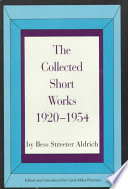 The Collected Short Works, 1920-1954