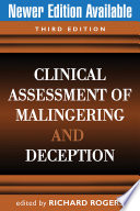 Clinical Assessment of Malingering and Deception  Third Edition