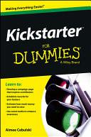 Kickstarter For Dummies book