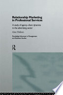Relationship Marketing in Professional Services