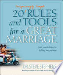 20  Surprisingly Simple  Rules and Tools for a Great Marriage Book PDF
