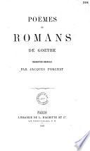 Oeuvres complètes de Goethe