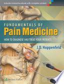 Fundamentals Of Pain Medicine : medicine. this comprehensive new resource addresses the...