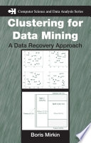 Clustering for Data Mining