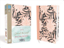 NIV  Journal the Word Bible for Teen Girls  Hardcover  Pink Floral