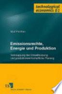Emissionsrechte, Energie und Produktion