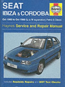 Seat Ibiza   Cordoba  93 99  Service   Repair Manual