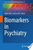 Biomarkers In Psychiatry
