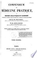 Compendium de médecine pratique
