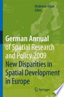 German Annual of Spatial Research and Policy 2009 Spatial Development In Europe Several