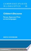 Children s Discourse