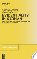 Evidentiality In German