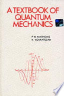 A Textbook of Quantum Mechanics