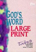 God s Word Large Print Bible