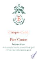 Cinque Canti   Five Cantos