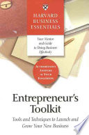 Entrepreneur s Toolkit