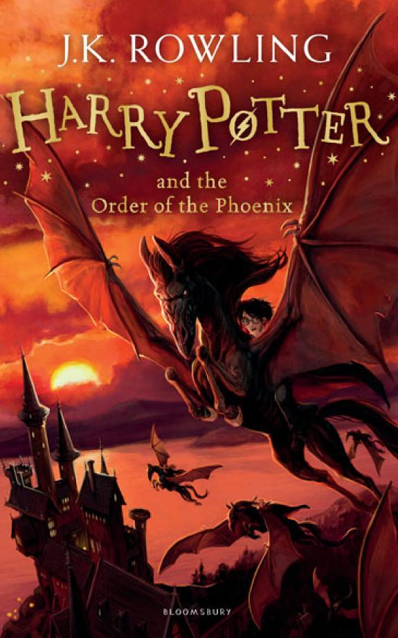 Harry Potter and the Order of the Phoenix / J.K. Rowling.- London : Bloomsbury , 2014
