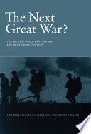 The Next Great War