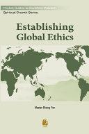 Establishing Global Ethics
