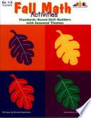Seasonal Math Activities Fall Ebook