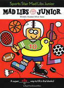 Sports Star Mad Libs Junior : sports star mad libs junior has some...