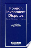 Foreign Investment Disputes