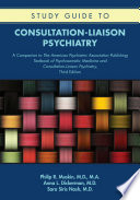 Study Guide To Consultation Liaison Psychiatry