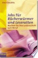 Jobs f  r B  cherw  rmer und Leseratten