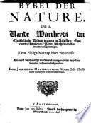 Bybel Der Nature