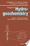 Progress in Hydrogeochemistry
