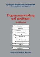 Programmentwicklung und Verifikation