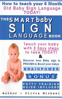 The Smart Baby Sign Language Book