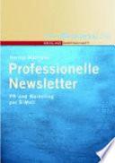 Professionelle Newsletter