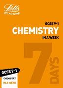 GCSE Chemistry in a Week
