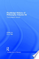 Routledge History of Philosophy Volume VII