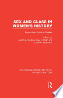 Sex and Class in Women s History