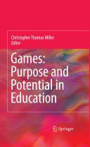 Book Games: Purpose and Potential in Education