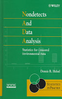 Nondetects and Data Analysis