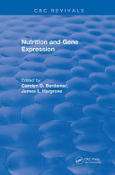 download ebook nutrition and gene expression pdf epub