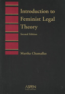 Introduction to Feminist Legal Theory