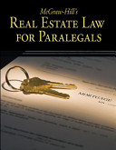 McGraw Hill s Real Estate Law for Paralegals