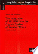 the integration of million into the english system of number words